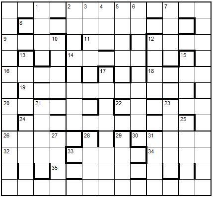 one across crossword puzzle dictionary